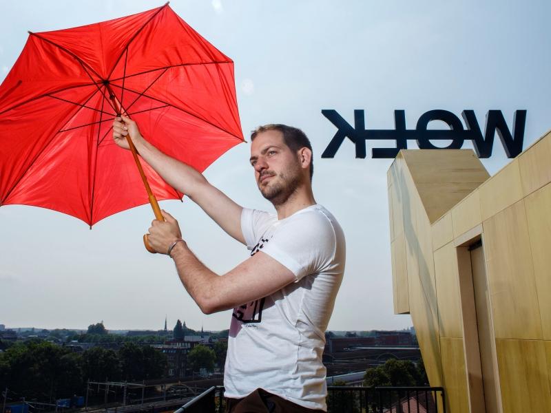 Lucas De Man: Het moet niet altijd groter en meer. (fotografie: Dolph Cathrijn)